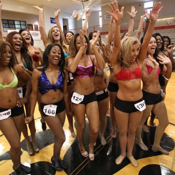 2013 Grizz Girls Auditions: Round 1