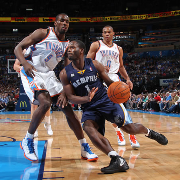 Grizzlies at Thunder: April 2, 2012