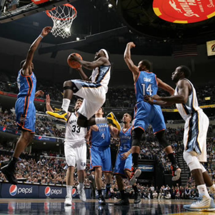 Grizzlies vs. Thunder: Gallery 1 - 12/28/11