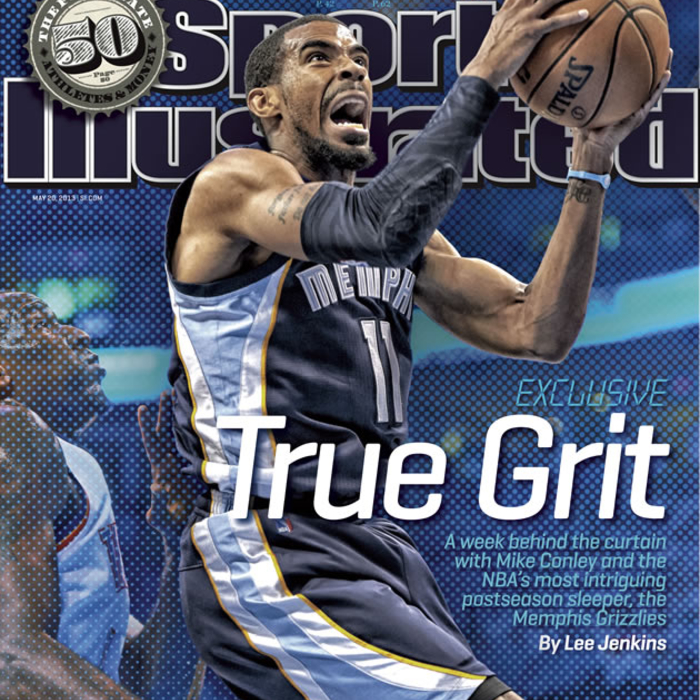 Mike Conley on cover of Sports Illustrated
