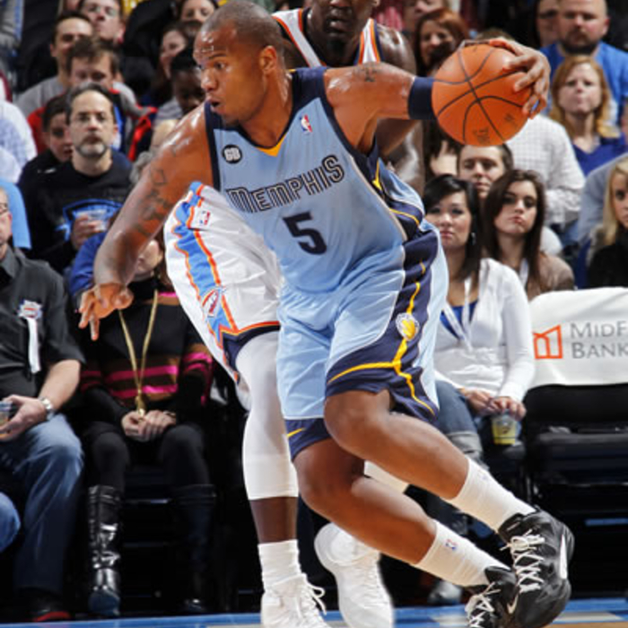 Grizzlies at Thunder: Gallery 1 - 2/3/12