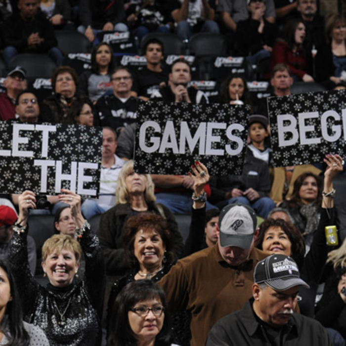 Grizzlies at Spurs - 12/26/11