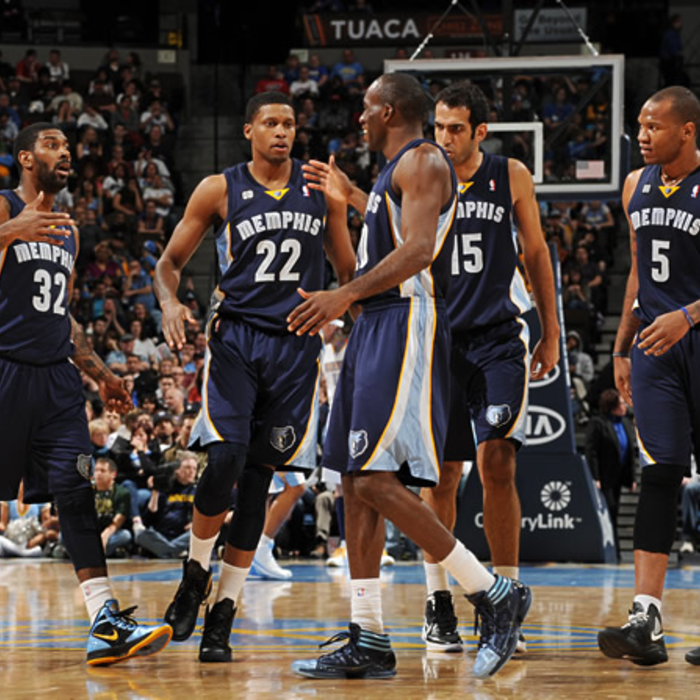 Grizzlies at Nuggets: March 11, 2012