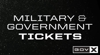 Military & Government Tickets
