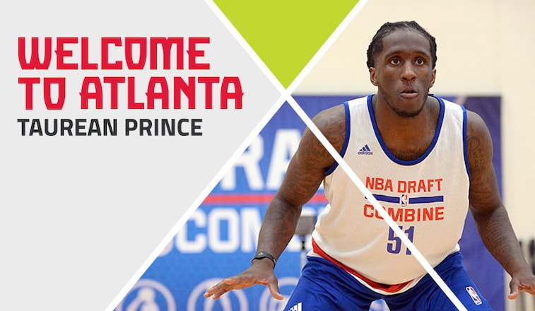 Welcome to Atlanta Taurean Prince