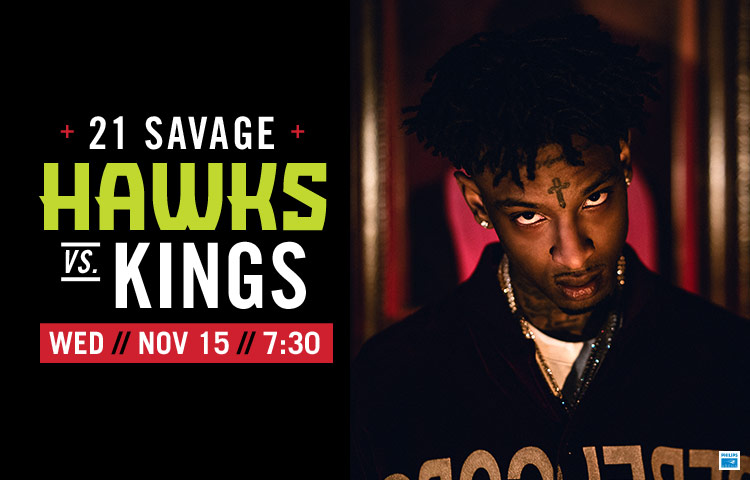 Issa Concert Hawks To Welcome 21 Savage on Nov. 15