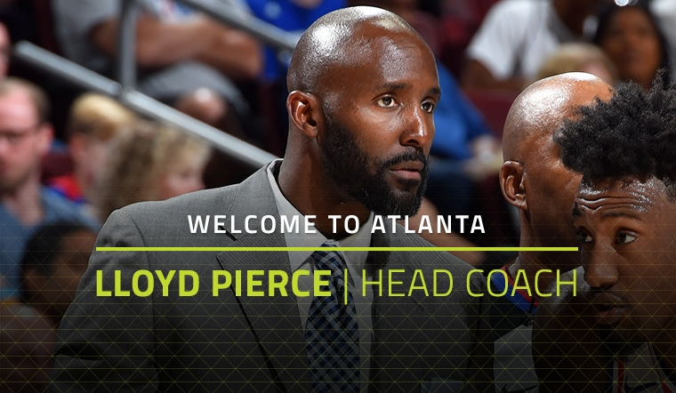 Hawks Reach Agreement in Principle With Lloyd Pierce To Become Team's Head Coach