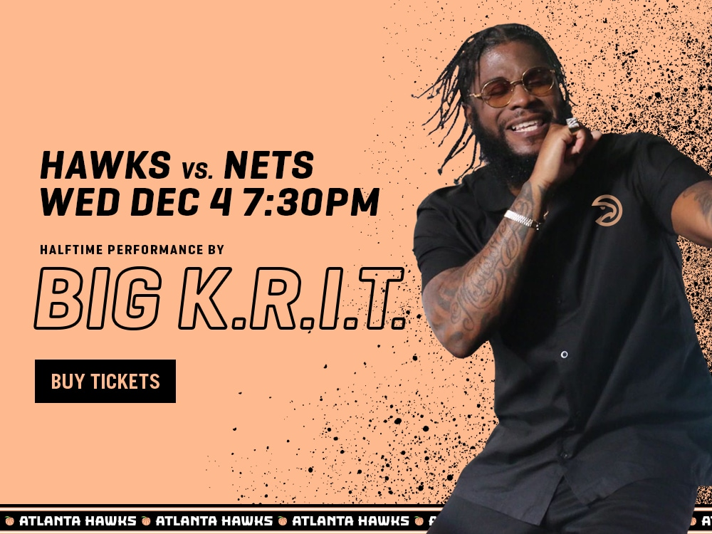 Big K.R.I.T. Performance on Wed Dec 4