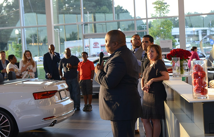 Jim Ellis Audi Atlanta >> Premium Season Ticket Members Attend Exclusive Event At Jim
