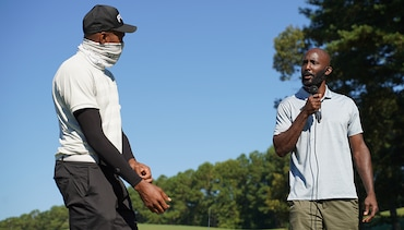 Hawks Play Socially Distant Golf For Vince Carter's Retirement