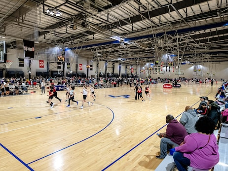 Atlanta Hawks Youth Classic Featured 125 Basketball Games from 80 Teams