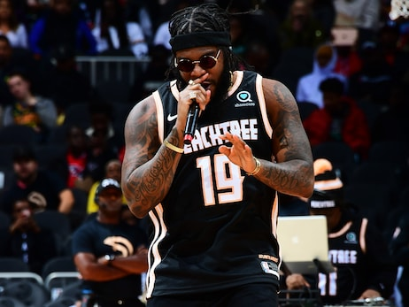 Big K.R.I.T. Performs at Halftime vs. Nets