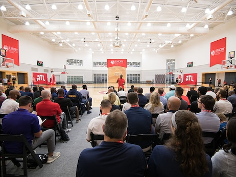 Lloyd Pierce Hosts Second Annual Coaches Clinic
