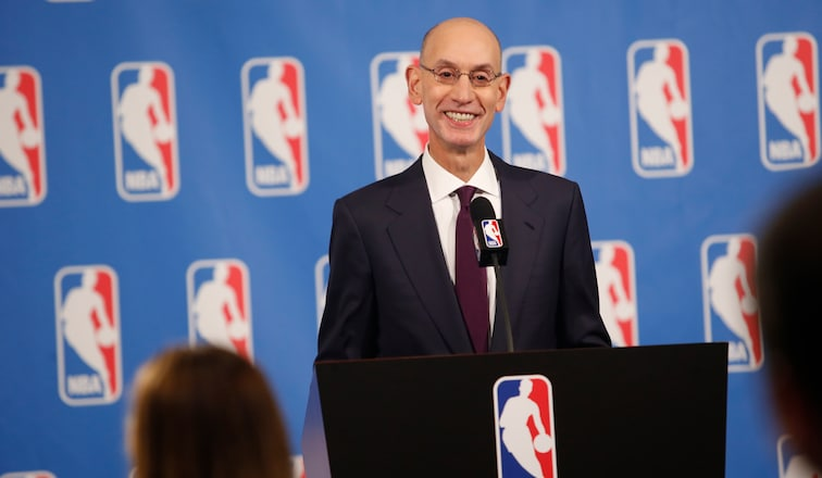 Commissioner Adam Silver