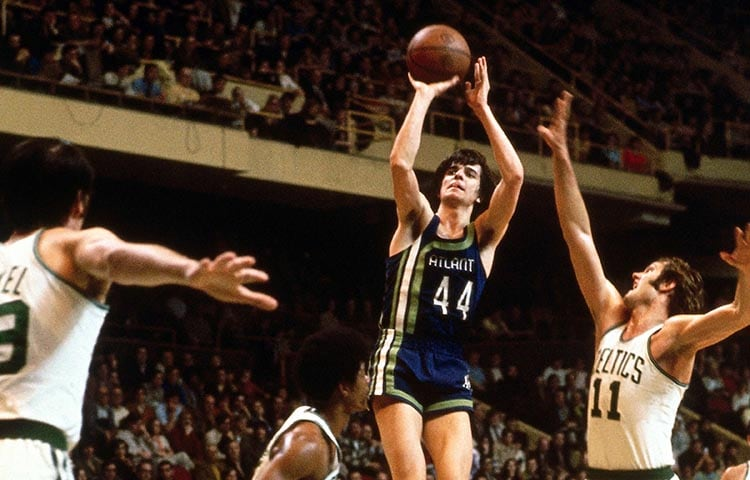 New Orleans Parking Tickets >> The Best Photos of Pistol Pete From His Time With The Hawks | Atlanta Hawks