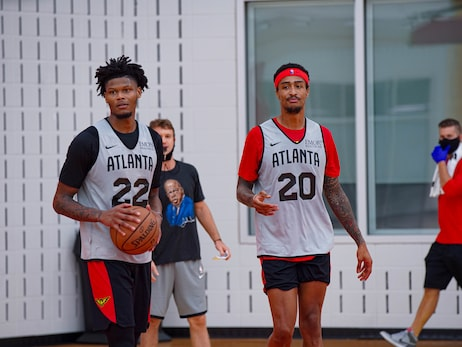 Hawks Mini-Camp Day 2 Photos: Presented by Michelob Ultra