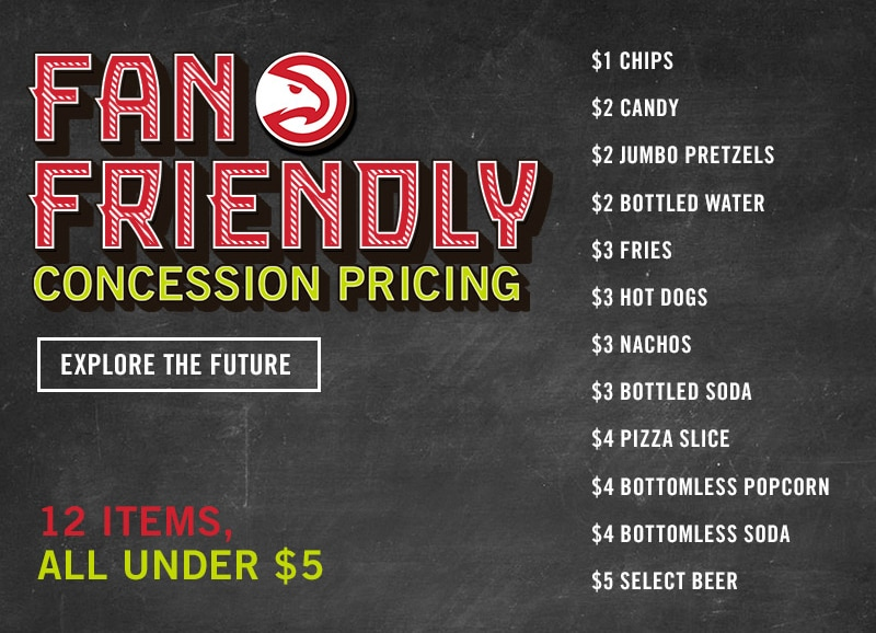Philips Arena Becomes First NBA Venue To Offer Fan-Friendly Concessions