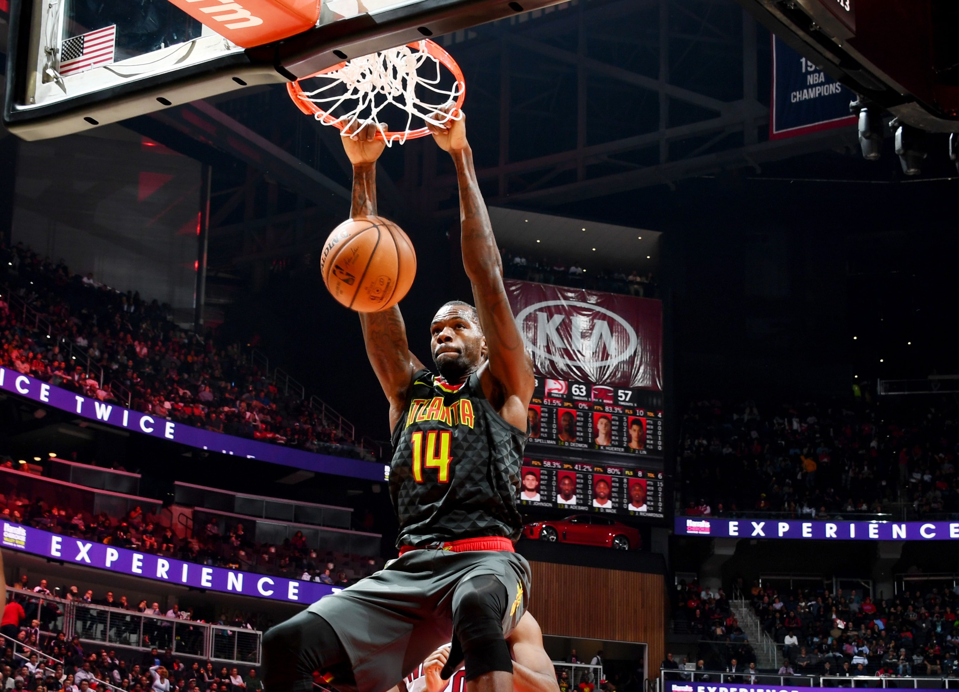 Atlanta Hawks Center Dewayne Dedmon and The Andrew and Walter Young Family YMCA bring Thanksgiving to Atlantas Families