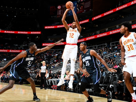 Hawks Drop Preseason Contest Against Magic