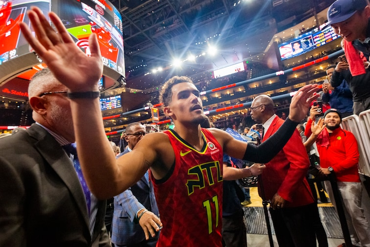 Trae Young Named Nba Eastern Conference Player Of The Week