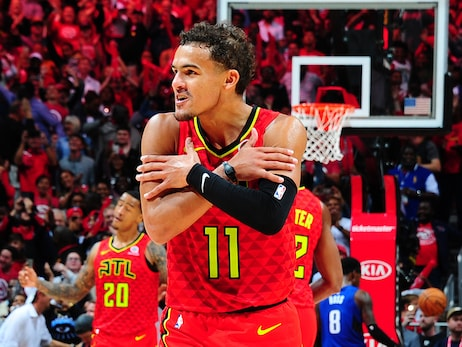 19-20 Season Rewind Presented by Gatorade: Top Trae Young Photos