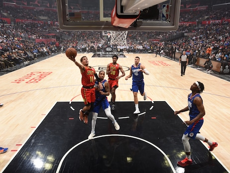 Hawks Fall to Clippers Ahead of Back-to-Back in Los Angeles