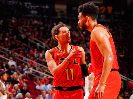 Hawks Trail Early, Fall to Rockets on the Road