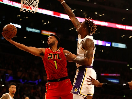 Hawks Lose to Lakers, Close Lengthy West Coast Trip