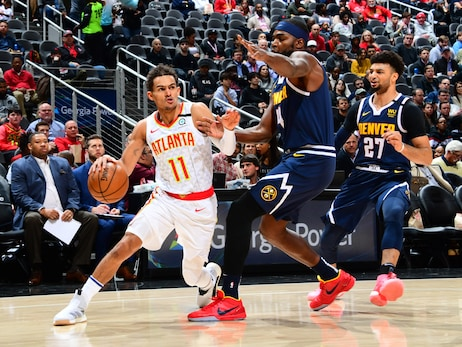 Hawks Drop Contest to Nuggets at Home