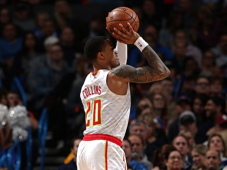 Hawks Can't Keep Up, Fall To Thunder On Road