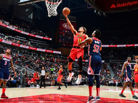 Hawks Defeat Wizards at Home