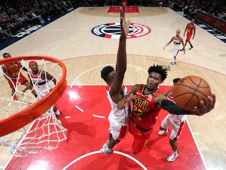 Hawks Put Up a Fight, Fall to Wizards