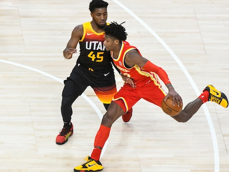 Hawks Fall to Jazz on the Road