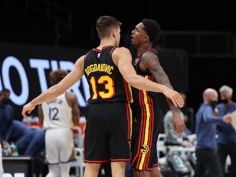 Hawks Defeat Warriors For Third Straight Win