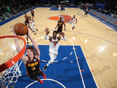 Hawks Fall To Knicks In Overtime