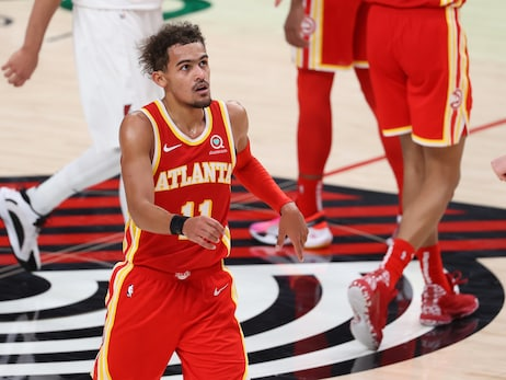 Hawks Drop Contest To Trail Blazers On The Road