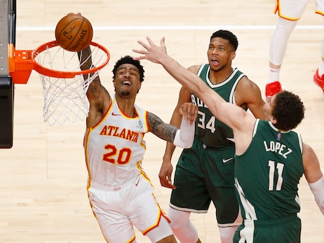 Hawks Catch Fire In Fourth, Defeat Bucks At Home