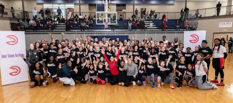 Lady Ballers Clinic Powered by Georgia Power