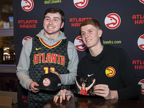 Budweiser Bar Network Player Appearance - Kevin Huerter At The Ivy