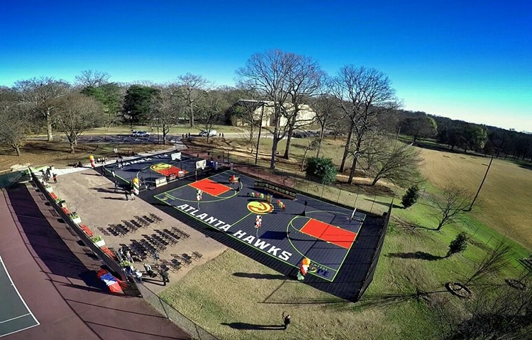 5 Photos Of Renovated Hawks Court At Grant Park, As Seen