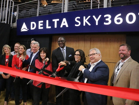 Atlanta Hawks and Delta Unveil the New Delta SKY360° Club at the Award-Winning State Farm Arena