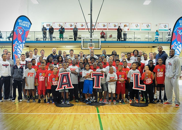 Hawks Team Up with YMCA to Host Clinic as Part of NBA Cares