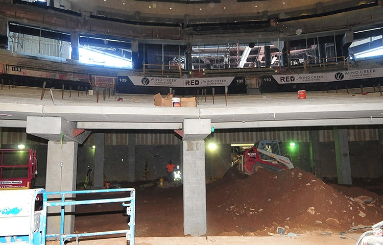 Arena Transformation: What Was Once  Is Now