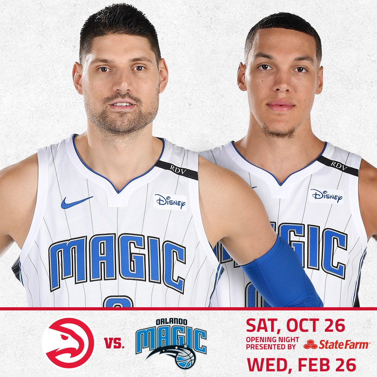 Hawks vs. Magic