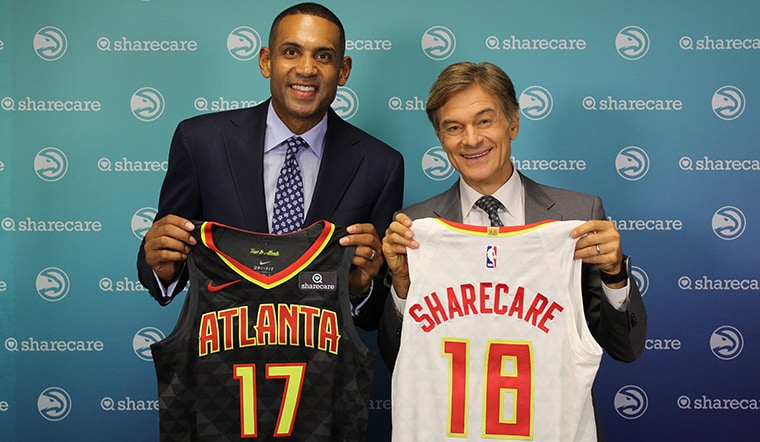 Sharecare and Hawks Launch Jersey Patch Partnership And Innovative Health Movement