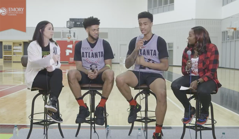 Hawks Hangout: Collins and Dorsey Discuss Fashion Rookie Life