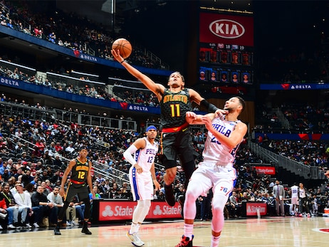 Hawks Defeat Sixers At Home