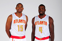 Al Horford and Paul Millsap