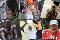 Hawks ice Bucket Challenges