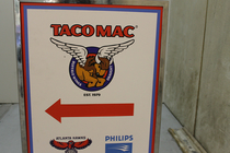 Members and employees gather at Taco Mac for food, fun and basketball to support